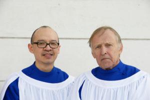 Director of Music Yotin Tiewtrakul and Organist Jochim Trede